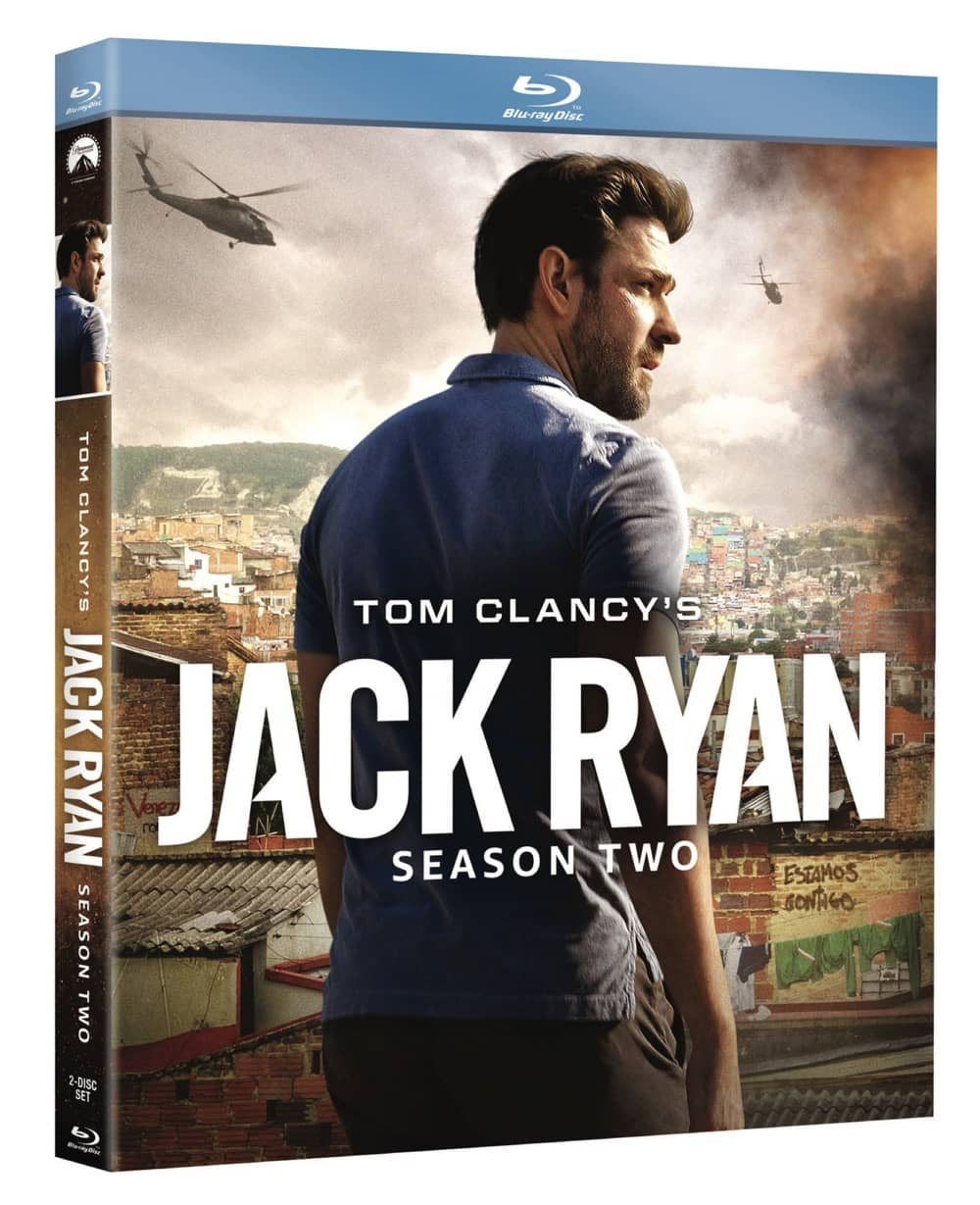 Jack Ryan Ssn 2 box art Blu ray