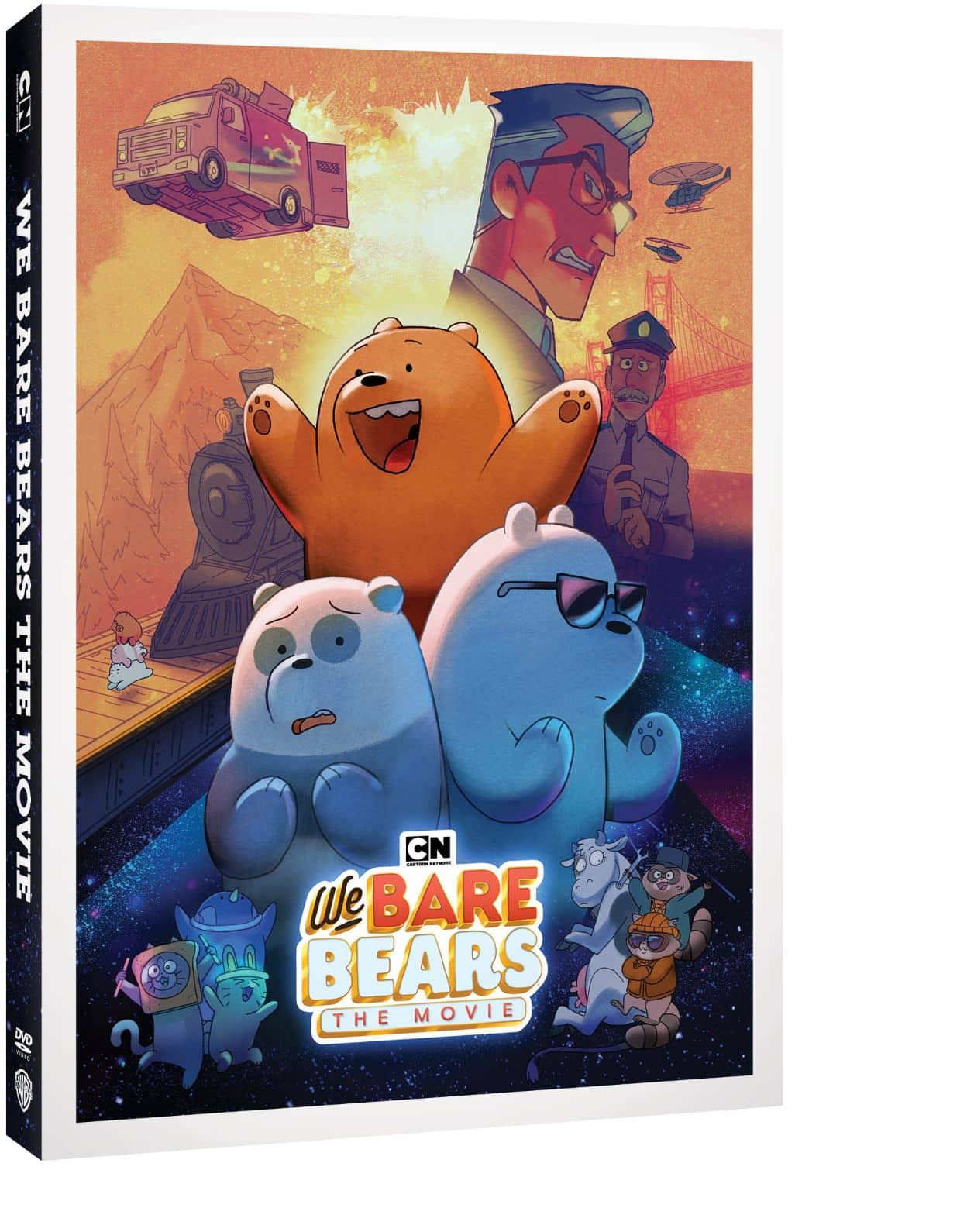 We Bare Bears The Movie Cover Artwork 3D