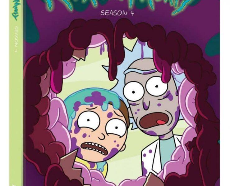 Rick And Morty Season 4 DVD