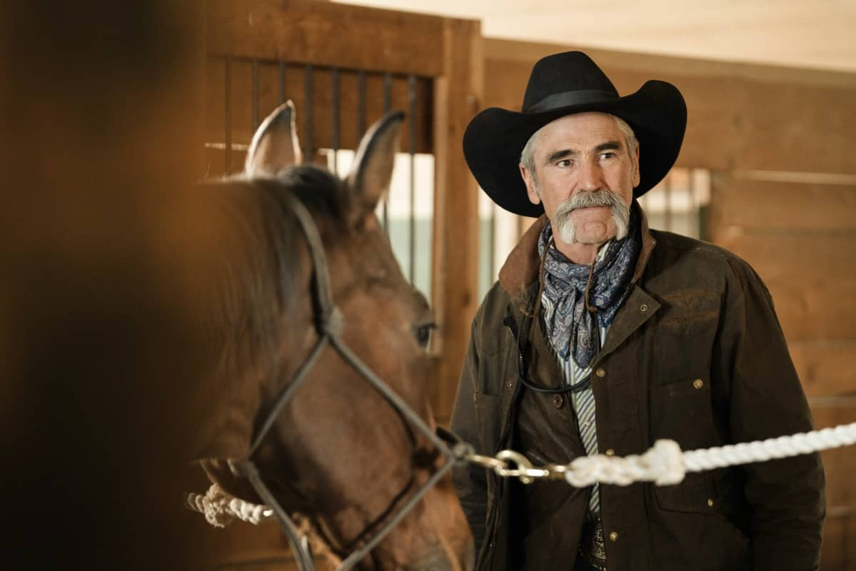 "Forrie J. Smith as Lloyd. Episode 8 of Yellowstone - ""I Killed a Man Today"" Premieres August 9th at 9 P.M. ET/PT on Paramount Network."