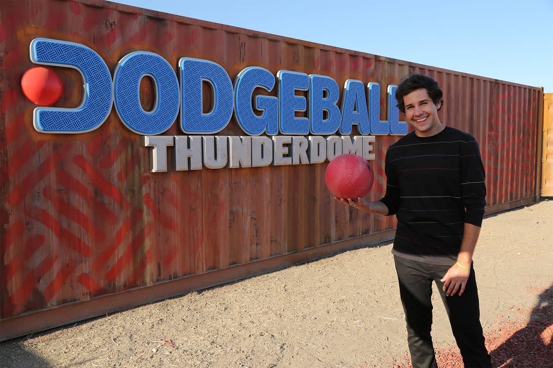 DODGEBALL THUNDERDOME + David Dobrik