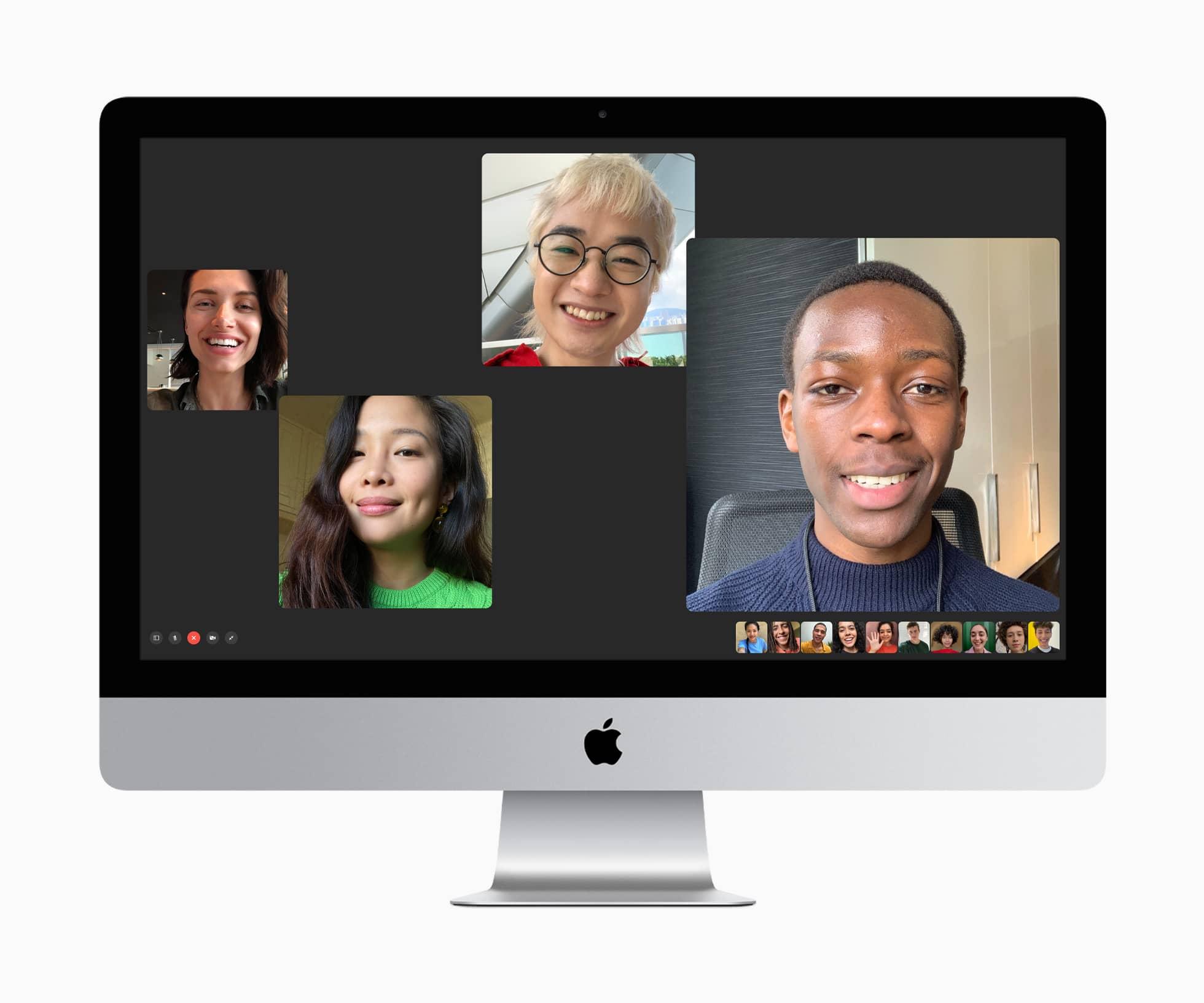 Apple imac macos facetime 08042020