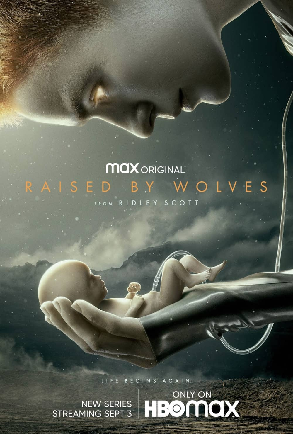 Raised By Wolves Poster Key Art HBO Max