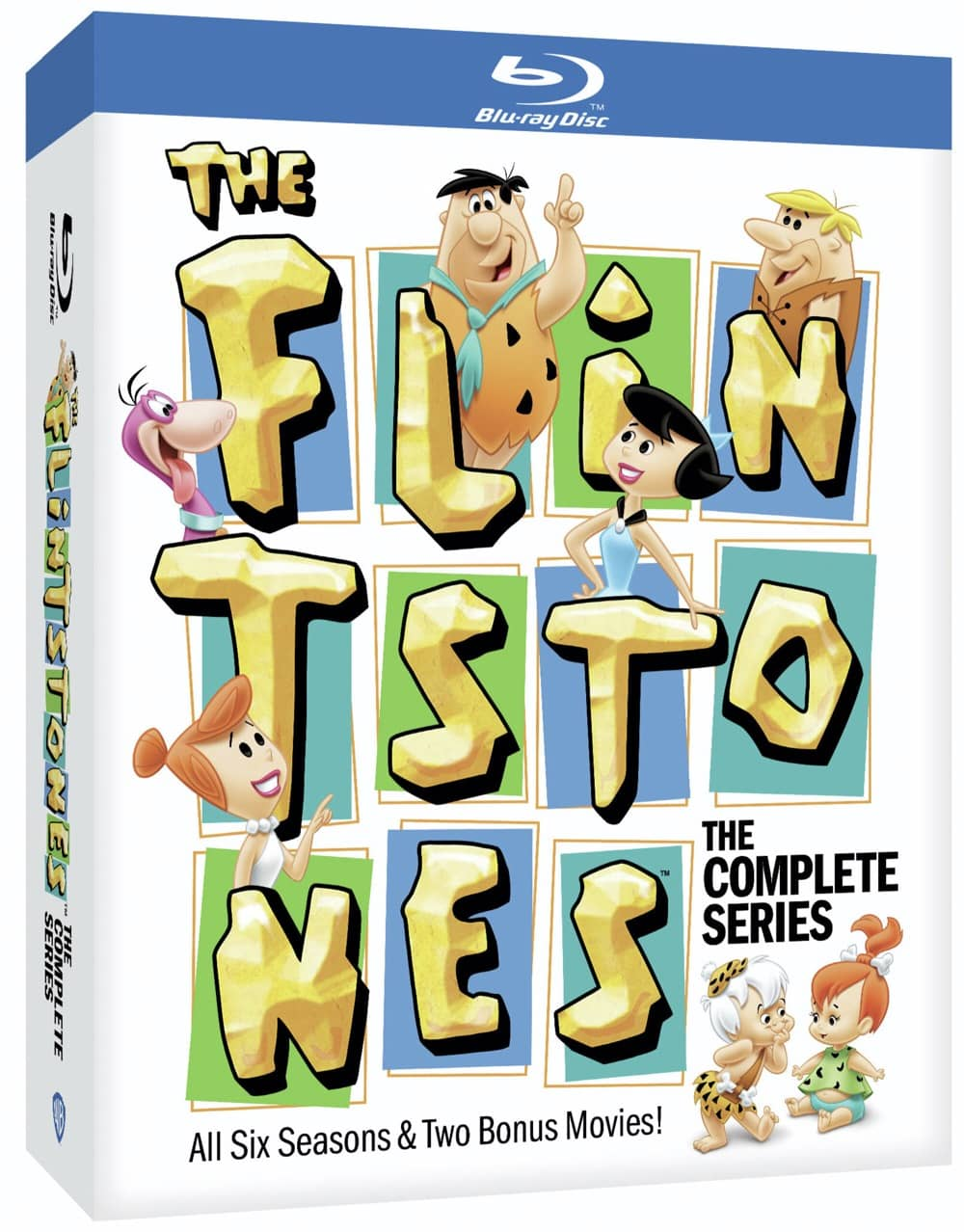 The Flintstones Bluray Set Cover Artwork
