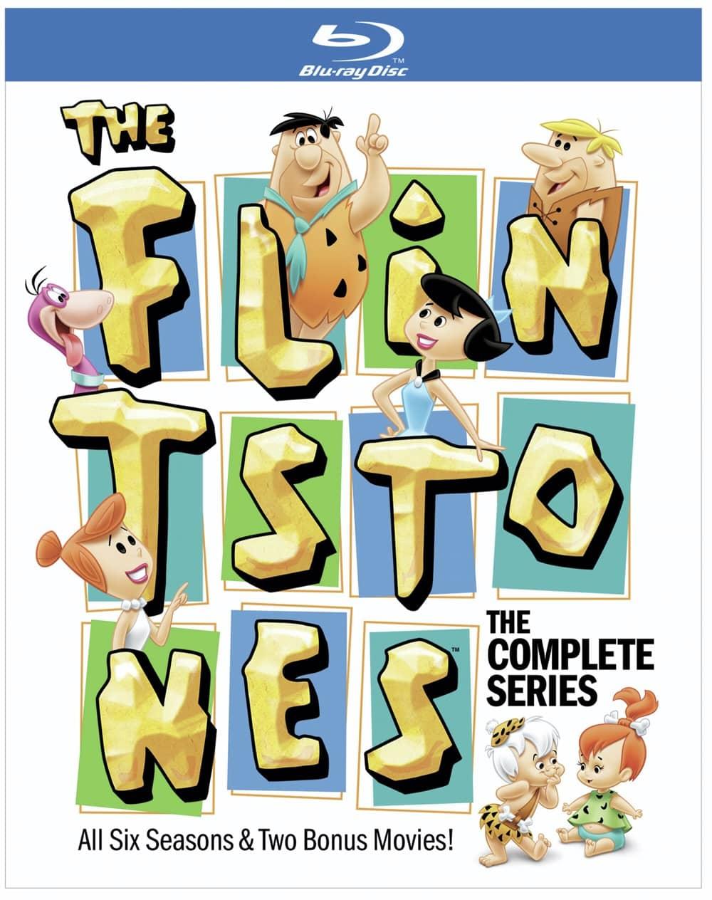 The Flintstones Bluray Set Cover