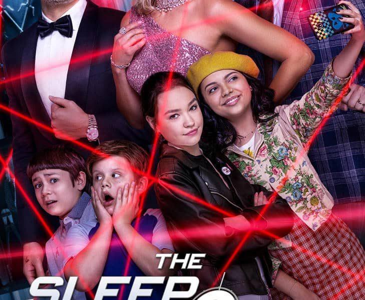 The Sleepover Netflix Poster Key Art