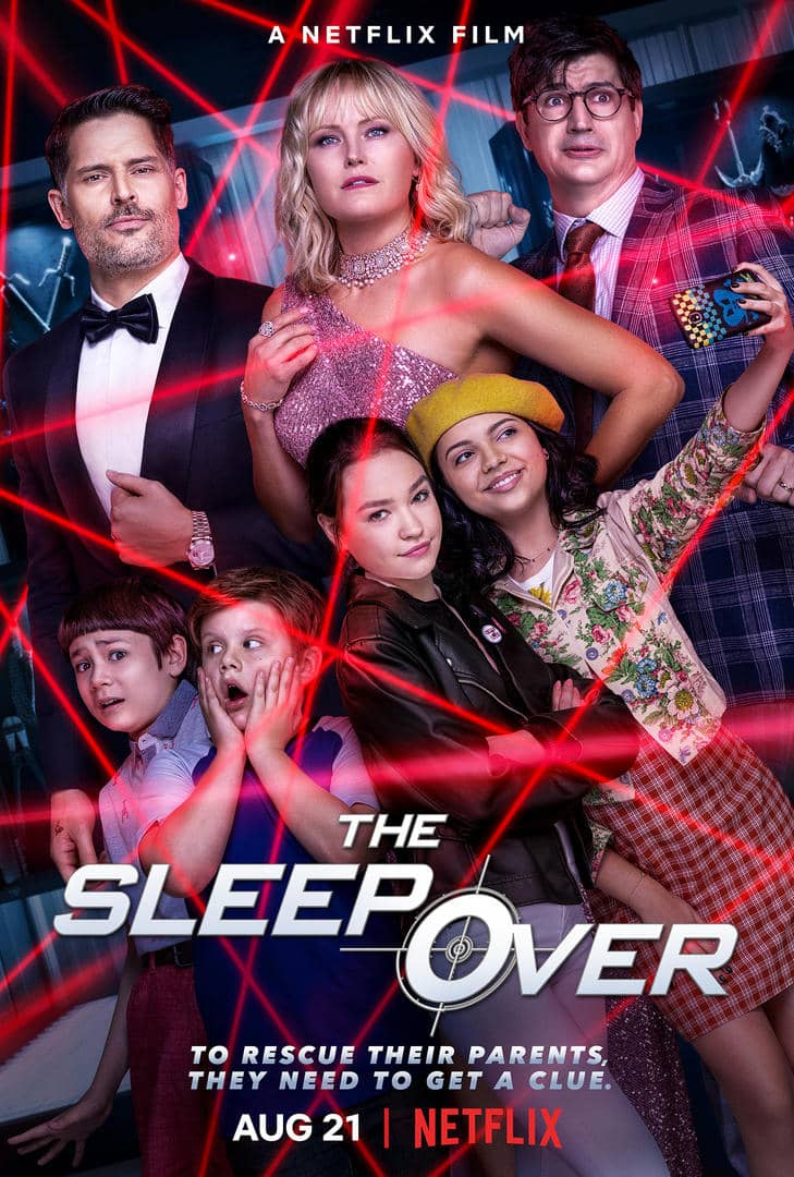 The Sleepover Netflix Poster Key Art