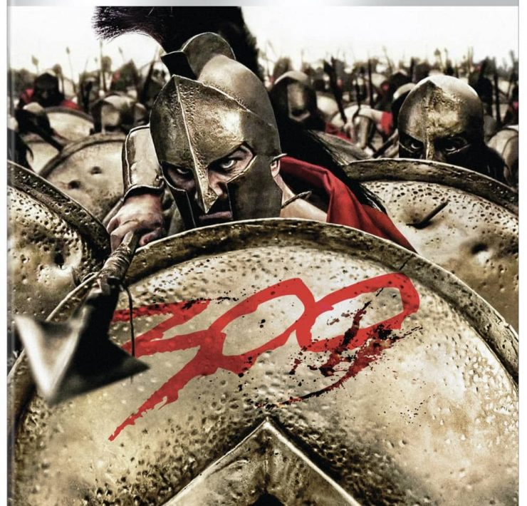 300 4K Ultra HD Box Art