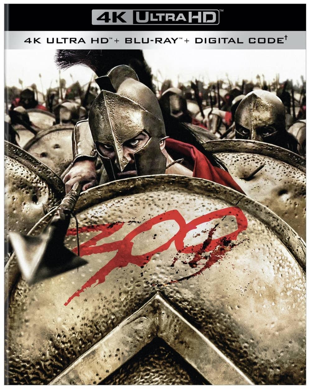 300 4K Ultra HD Box Art