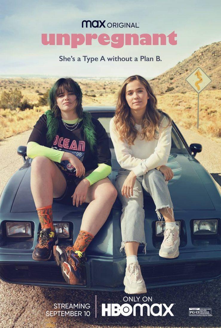 Unpregnant Poster Key Art HBO Max