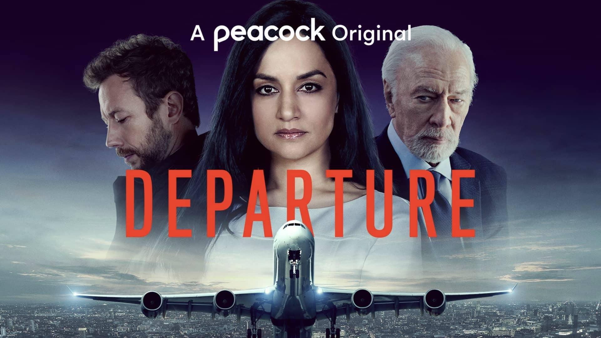 Departure Peacock Poster Key Art