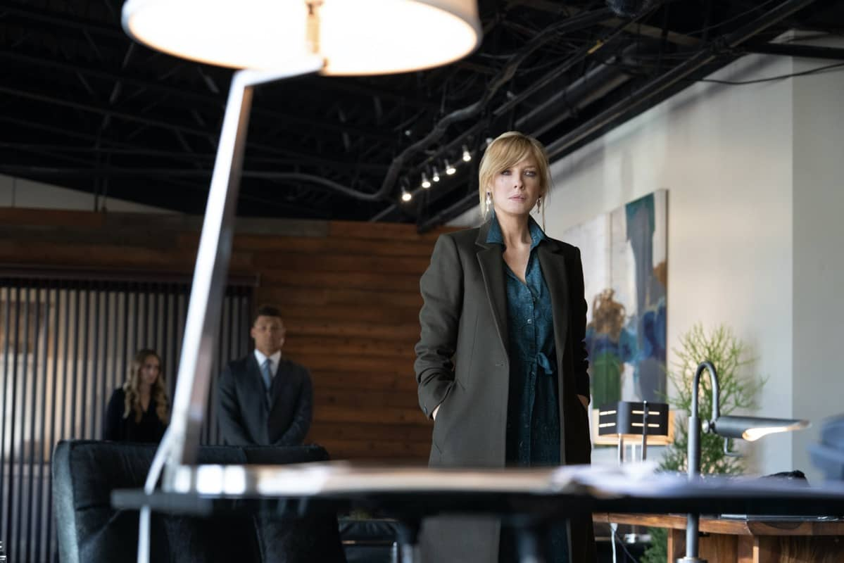 """Kelly Reilly as Beth Dutton. Episode 9 of Yellowstone - """"Meaner than Evil"""" Premieres August 16th at 9 P.M. ET/PT on Paramount Network."""