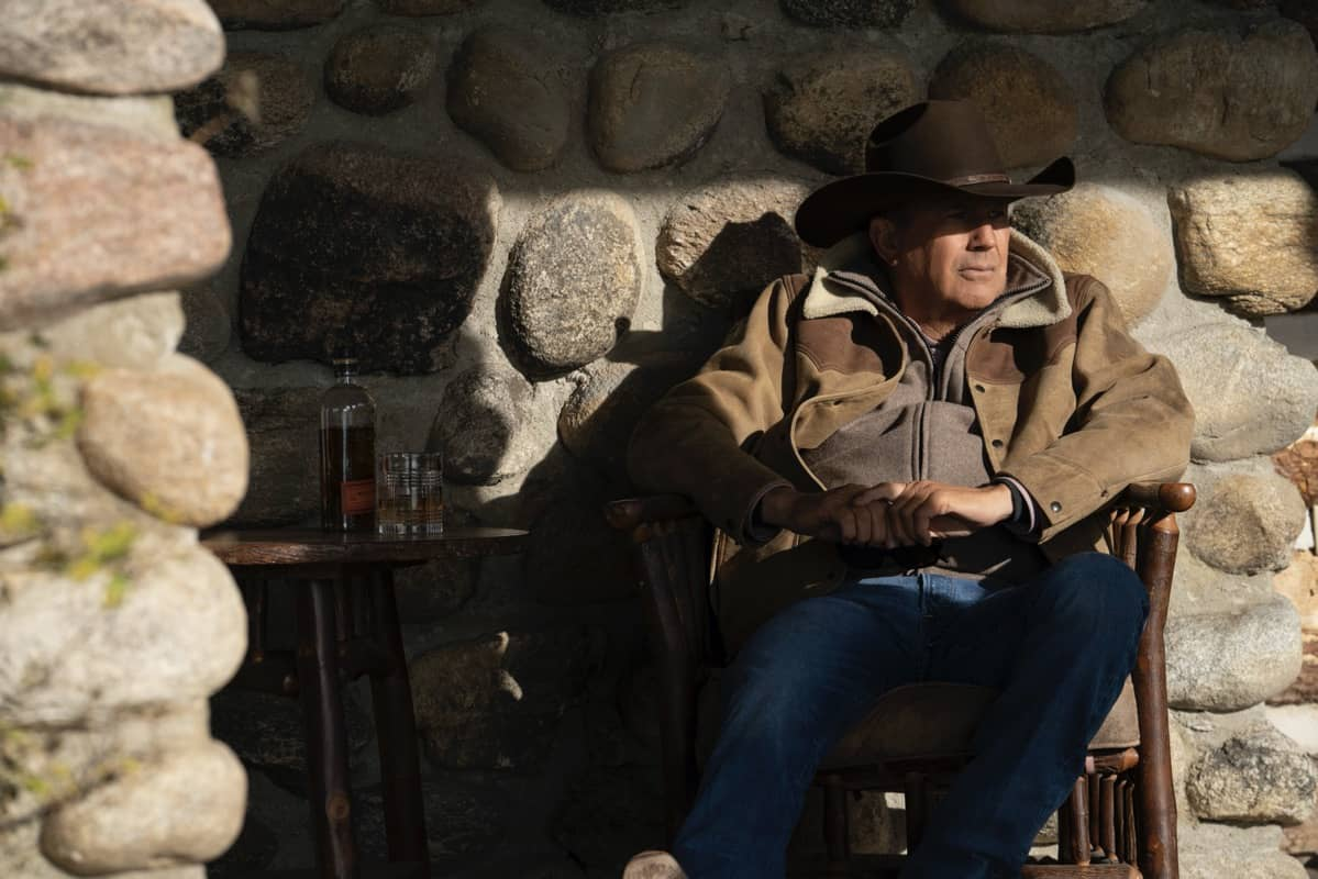 """Kevin Costner as John Dutton. Episode 9 of Yellowstone - """"Meaner than Evil"""" Premieres August 16th at 9 P.M. ET/PT on Paramount Network."""