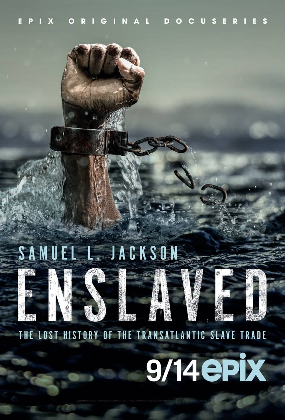 Enslaved Season 1 Poster Key Art