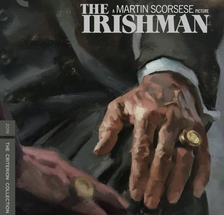 The Irishman The Criterion Collection Blu-ray Cover