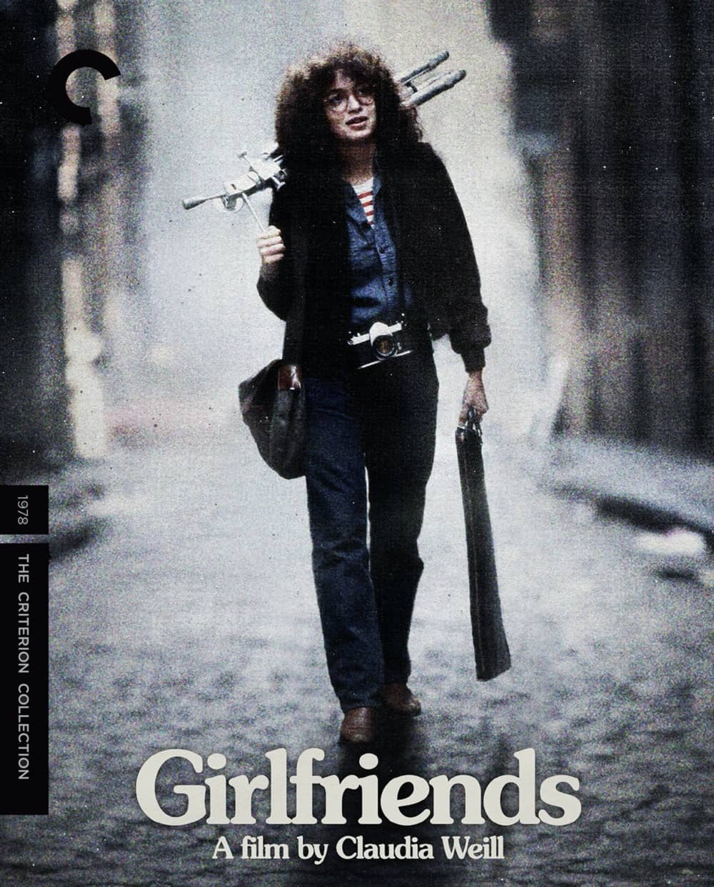 Girlfriends The Criterion Collection Blu-ray Cover