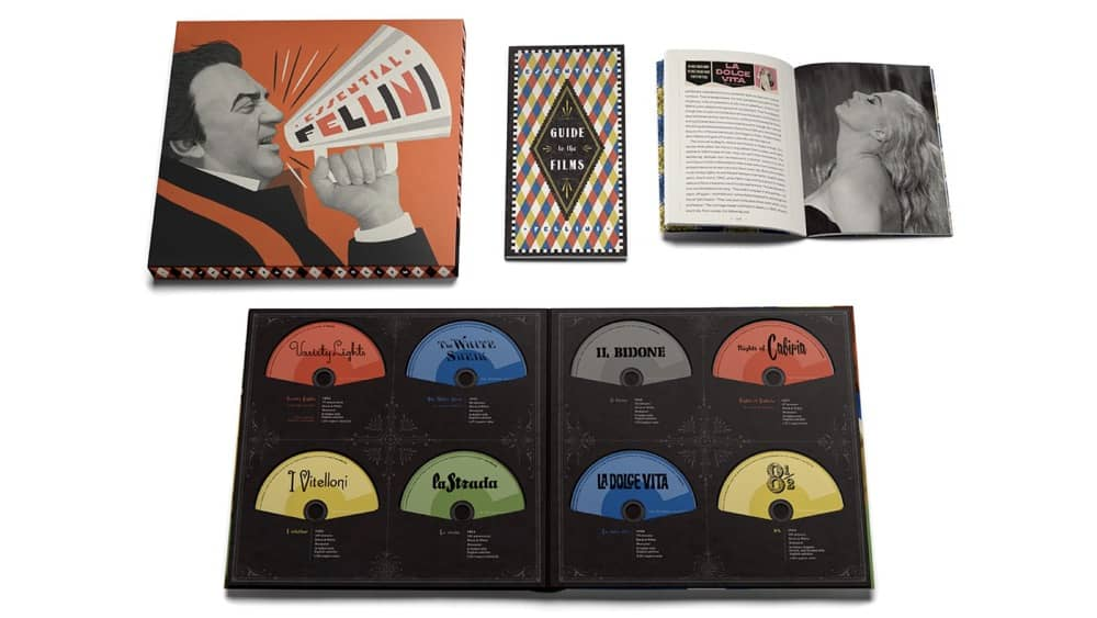 Essential Fellini The Criterion Collection Blu-ray Box