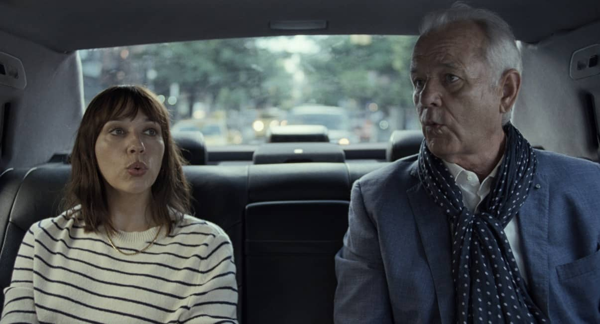 "Rashida Jones and Bill Murray in ""On The Rocks,"" premiering this fall on Apple TV+."