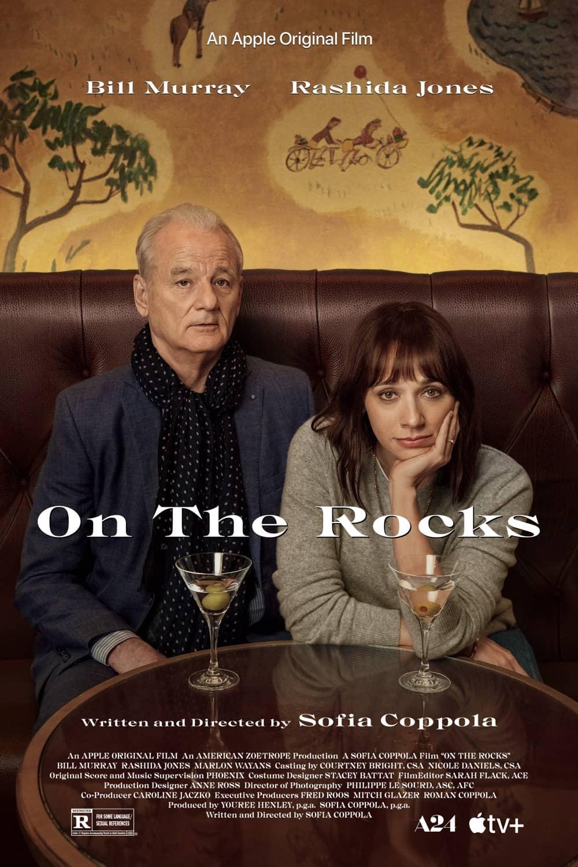 On The Rocks Movie Poster Bill Murray Rashida Jones