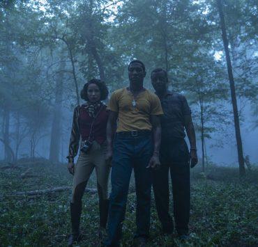 Jurnee Smollett, Jonathan Majors, Courtney B. Vance Photograph by Eli Joshua Ade/HBO