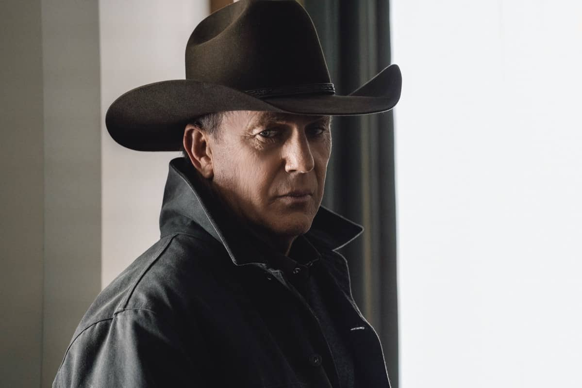 """Kevin Costner as John Dutton. The Season Three Finale of Yellowstone - """"The World is Purple"""" Premieres August 23rd at 9 P.M. ET/PT on Paramount Network."""