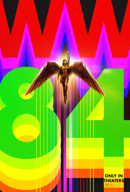 Wonder Woman 1984 Poster Art