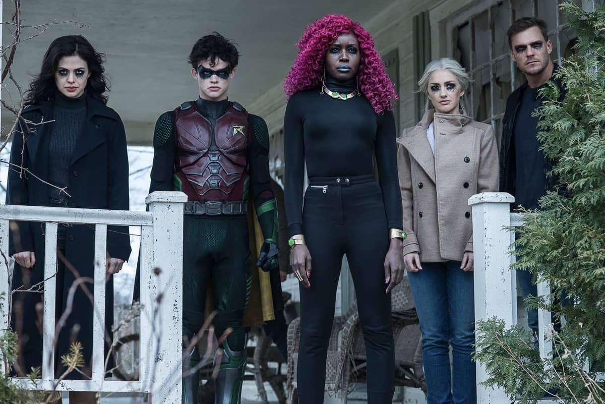 Titans Season 2 Cast DC