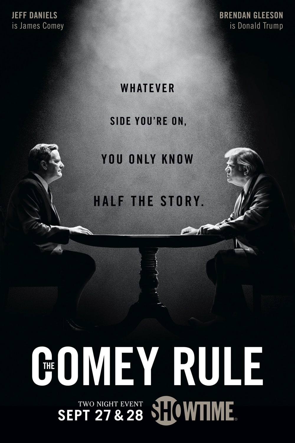 THE COMEY RULE Poster Key Art