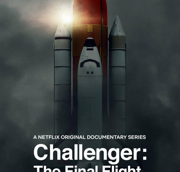CHALLENGER THE FINAL FLIGHT Poster Key Art Netflix