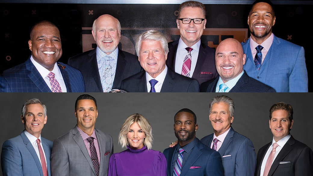 Fox Sports 2020 Studio Lineup NFL