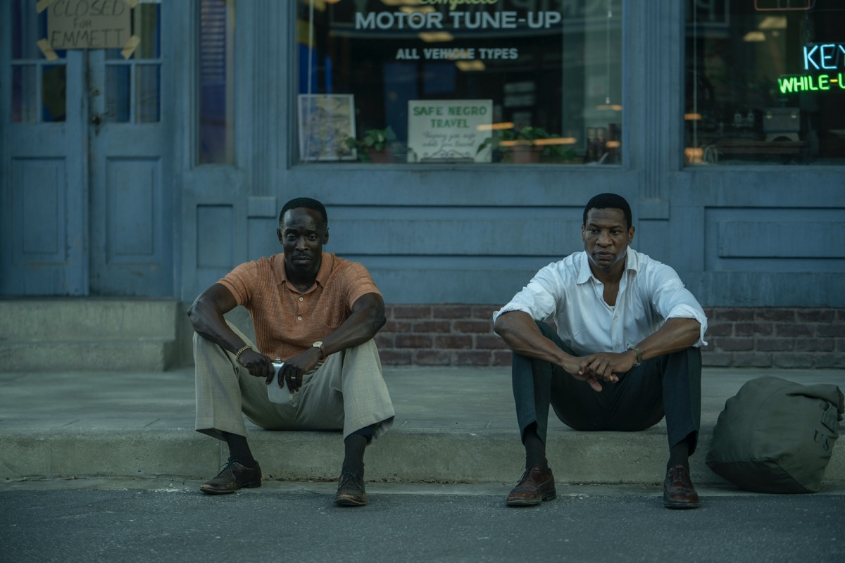 Jonathan Majors, Michael K. Williams LOVECRAFT COUNTRY Season 1 – Episode 8 Photograph by Eli Joshua Ade/HBO