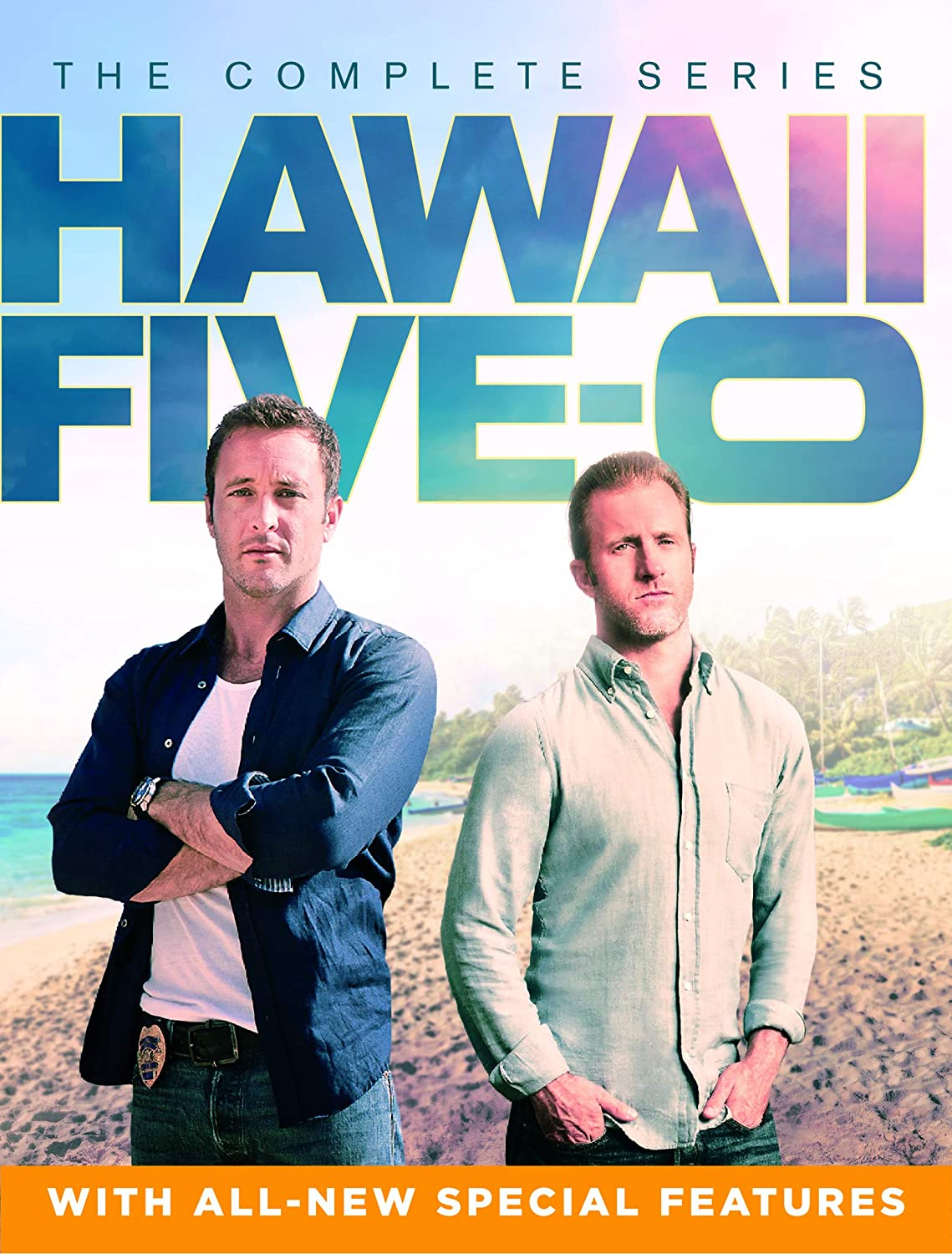 Hawaii Five 0 Complete Series DVD Case Cover