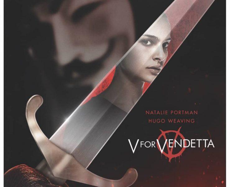 V FOR VENDETTA 4K Box Cover Artwork