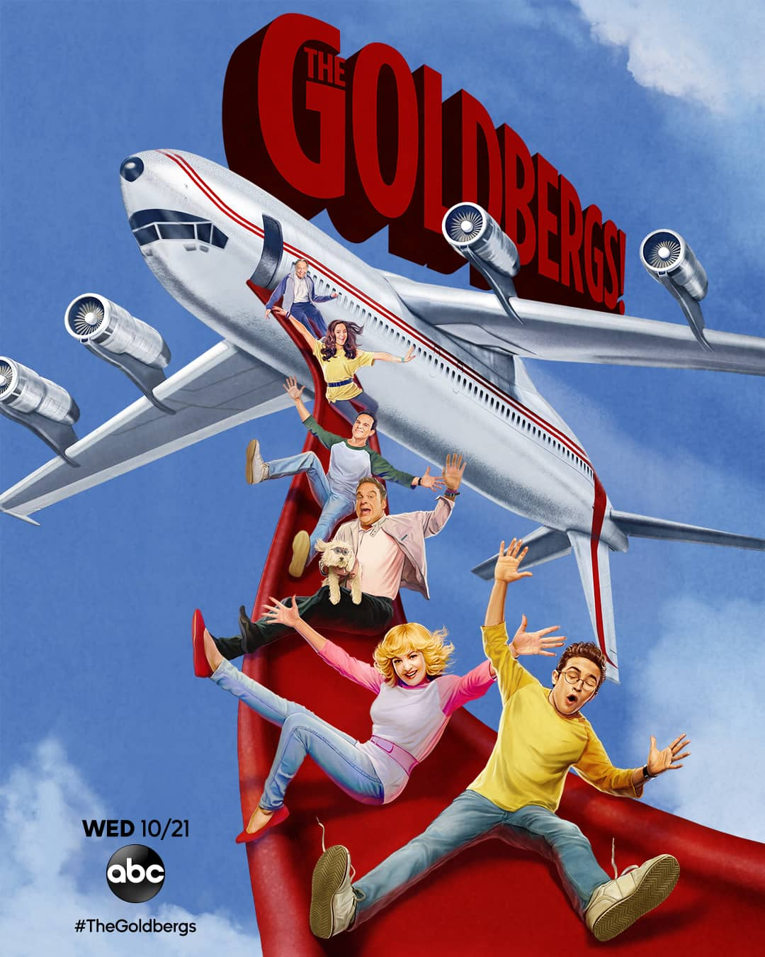 THE GOLDBERGS Season 8 Poster Key Art