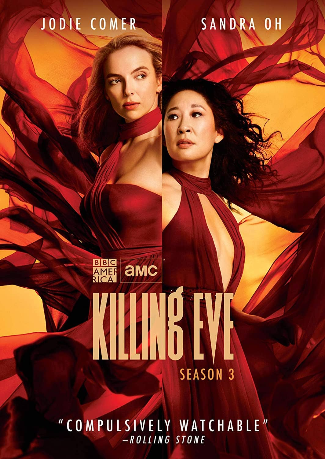 Killing Eve Season 3 DVD
