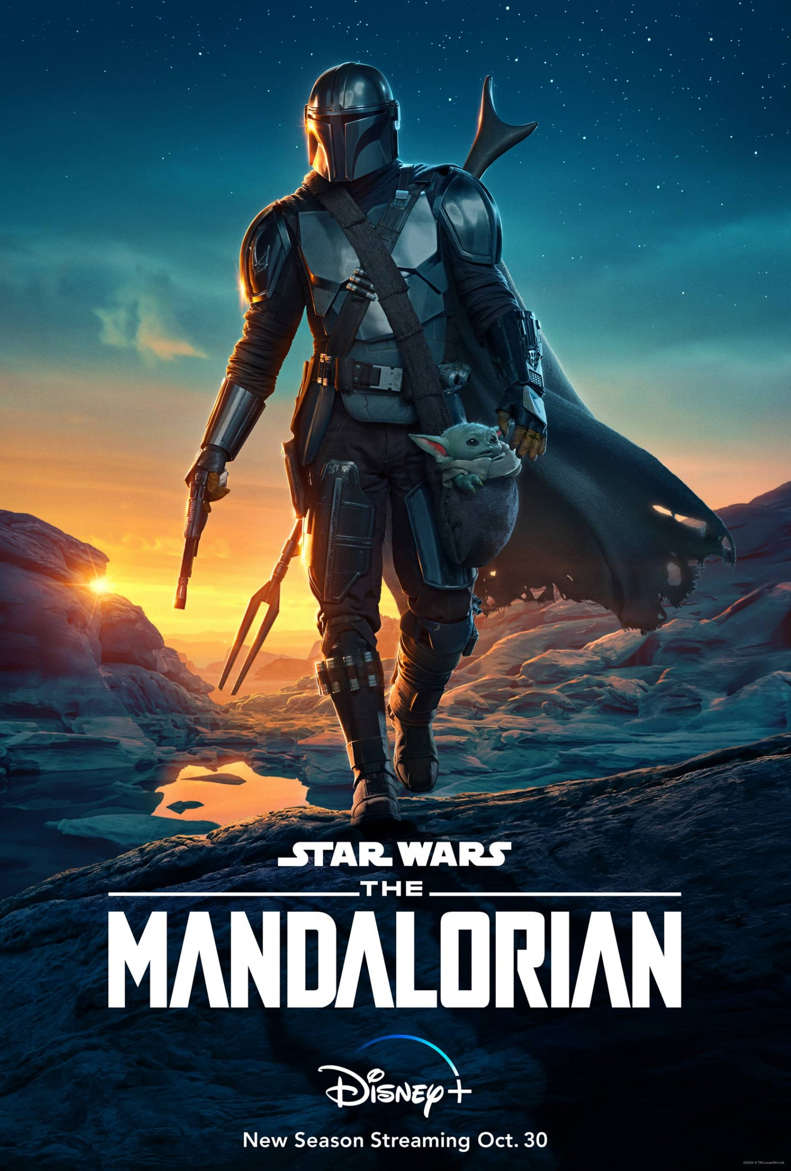 The Mandalorian Season Two Poster Key Art