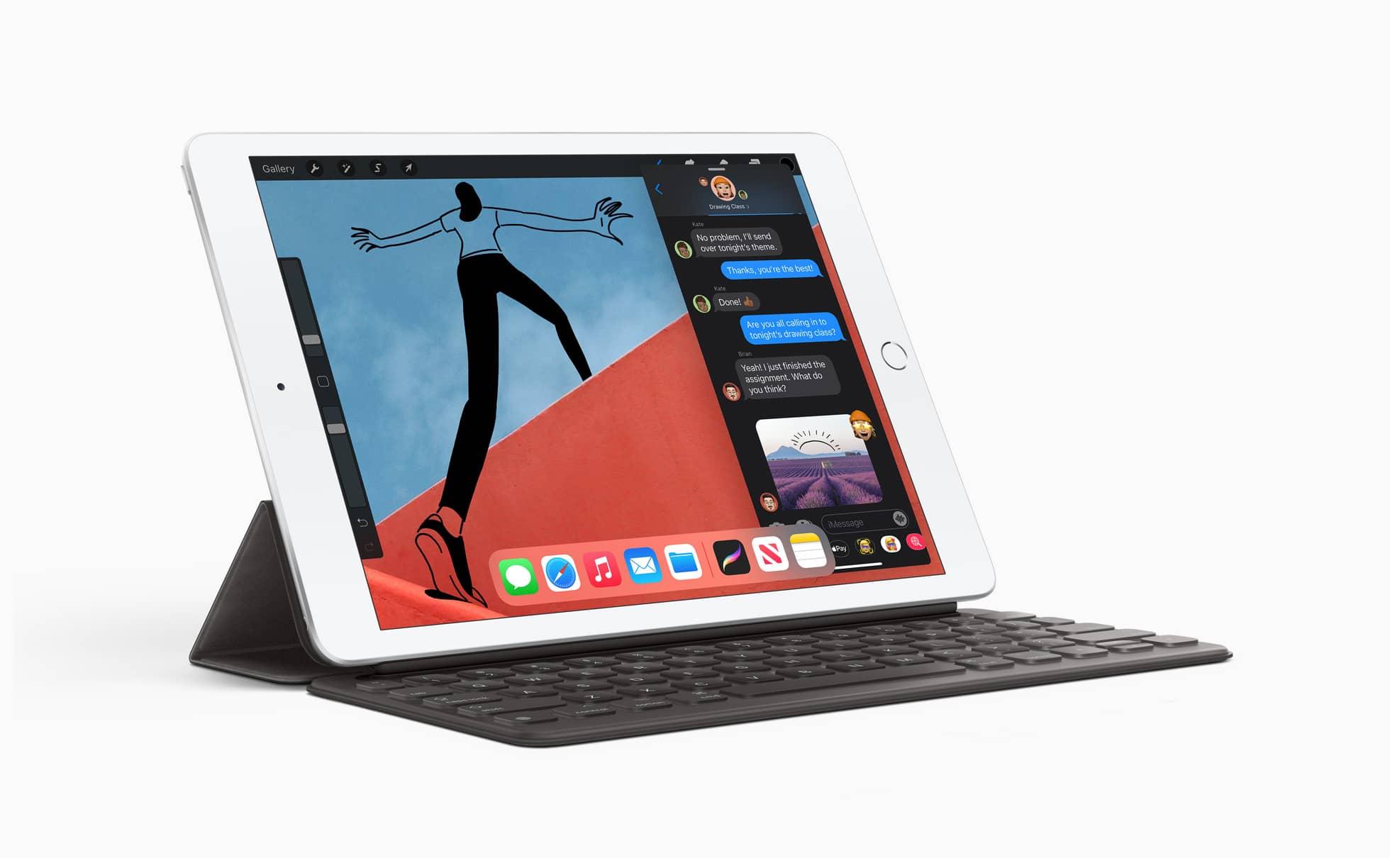 apple ipad 8th gen w keyboard 09152020