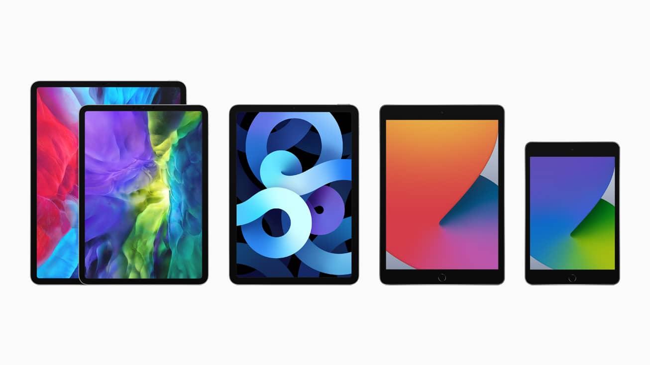 apple ipad 8th gen ipad lineup 09152020