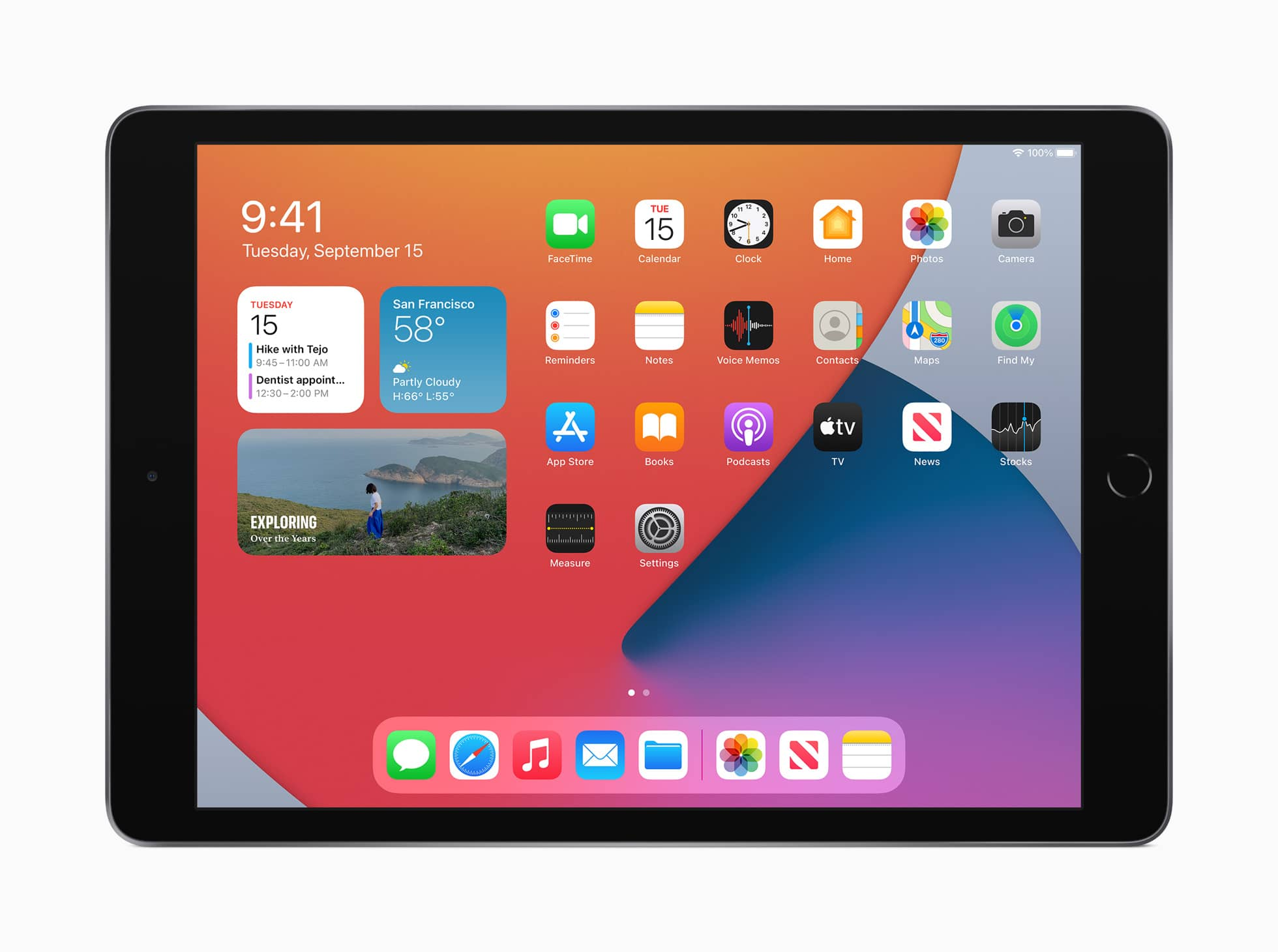 apple ipad 8th gen widgets 09152020