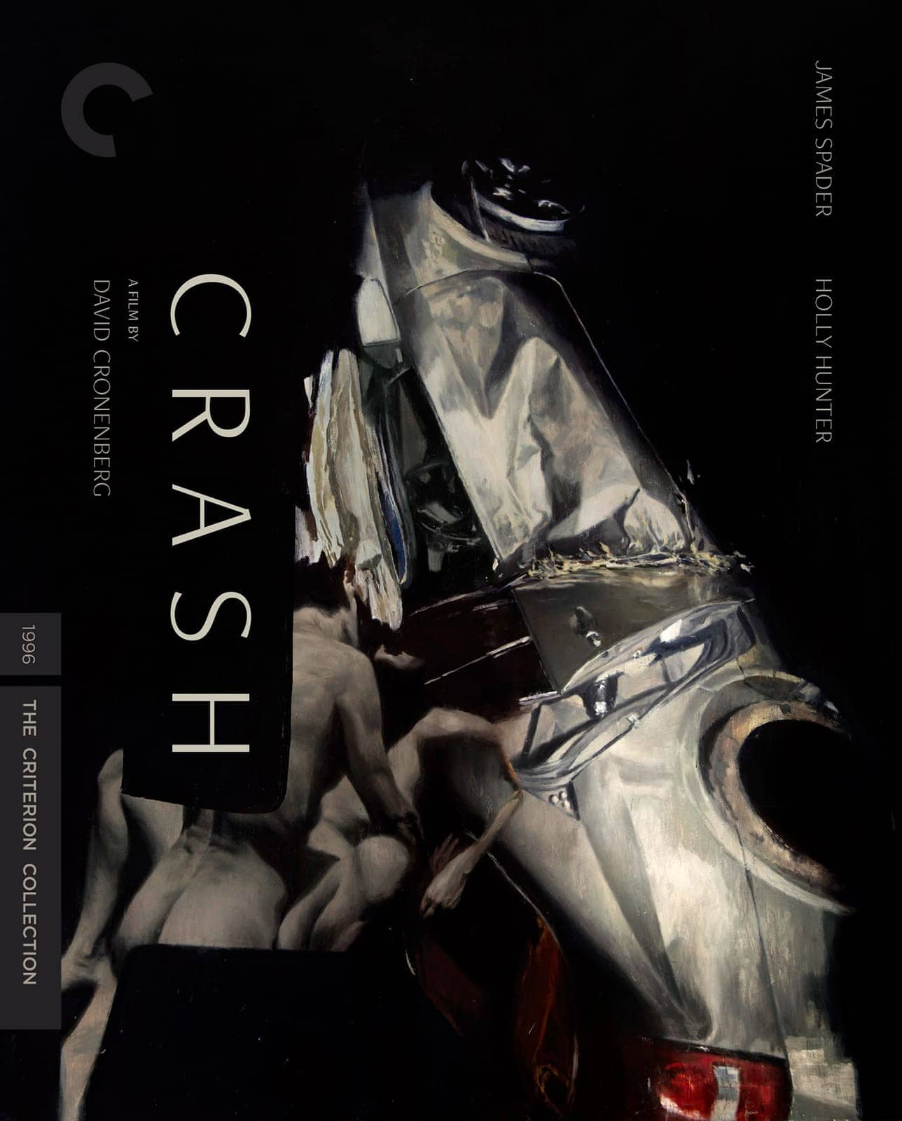 Crash The Criterion Collection Bluray Cover