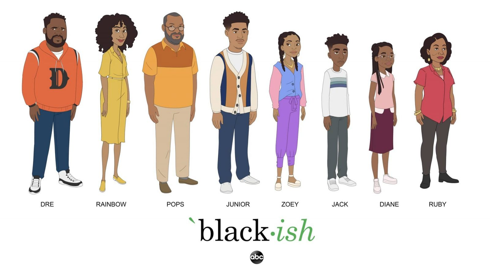 """BLACK-ISH - The Johnsons and """"black-ish"""" return to ABC with a special one-hour television special on SUNDAY, OCT. 4 (10:00-11:00 p.m. EDT), on ABC. The two back-to-back episodes, which will air ahead of the official season seven premiere on WEDNESDAY, OCT 21 (9:30-10:00 p.m. EDT), will follow the Johnsons as they navigate the upcoming election, with Junior (Marcus Scribner) embarking on his journey as a first-time voter and Dre (Anthony Anderson) launching an exploration into local politics. The special will be presented in part as an animated episode. (ABC/Smiley Guy Studios) BLACK-ISH"""