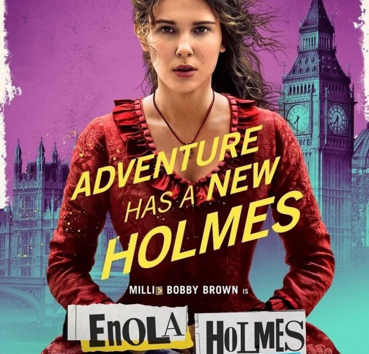 Millie Bobby Brown Enola Holmes Character Poster