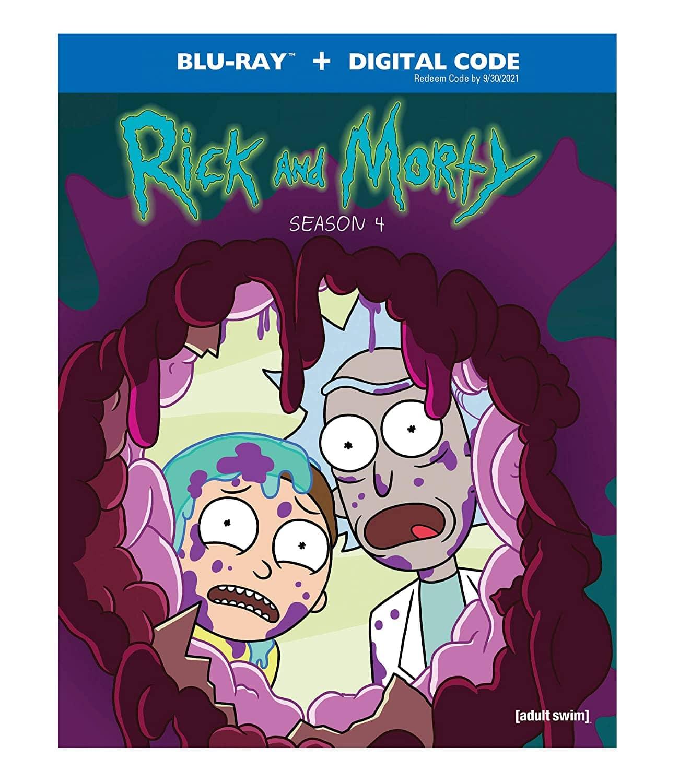 Rick And Morty Season 4 Bluray