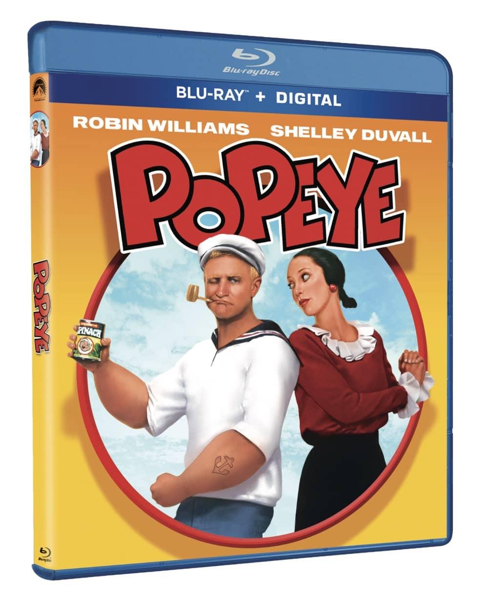 Popeye Blu-ray Cover 40th Anniversary