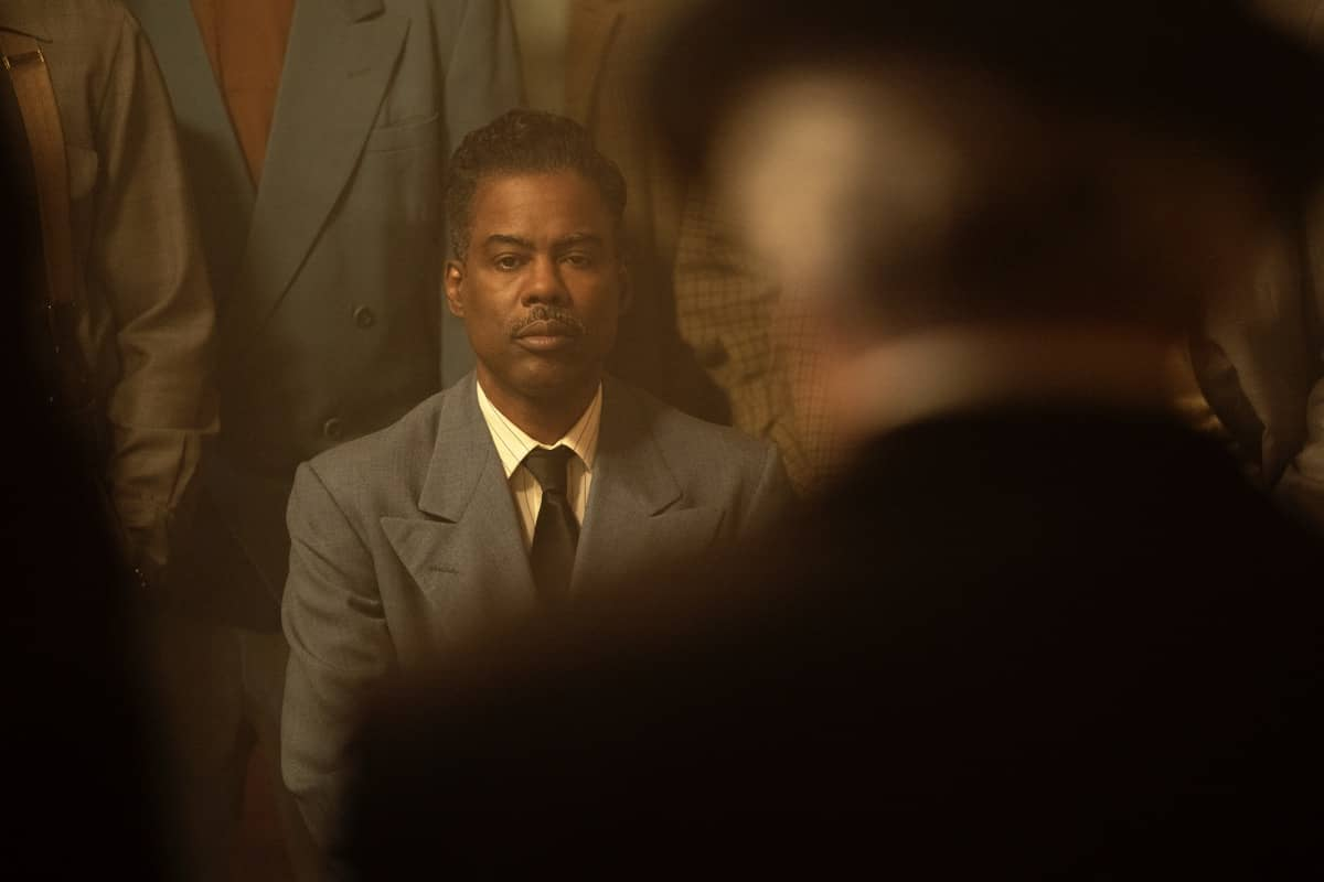 """FARGO -- """"Welcome to the Alternate Economy"""" - Year 4, Episode 1 (Airs September 27) Pictured: Chris Rock as Loy Cannon. CR: Elizabeth Morris/FX"""