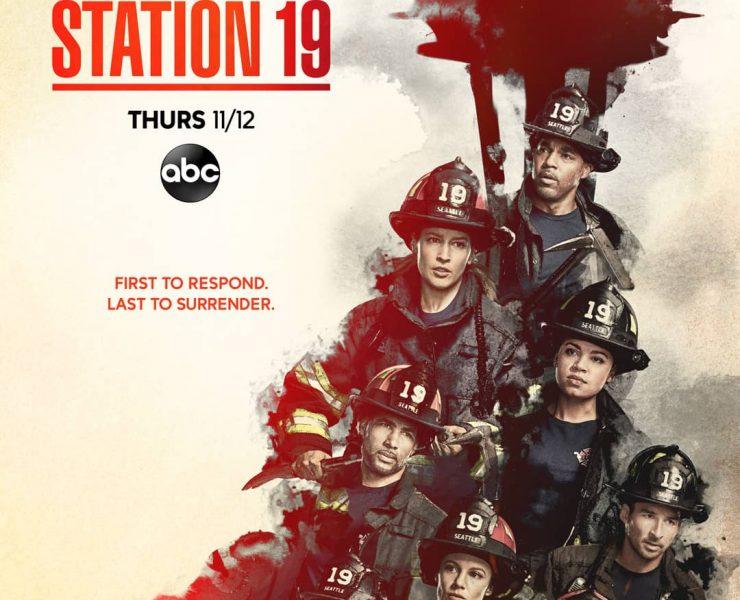 STATION 19 Season 4 Poster Key Art