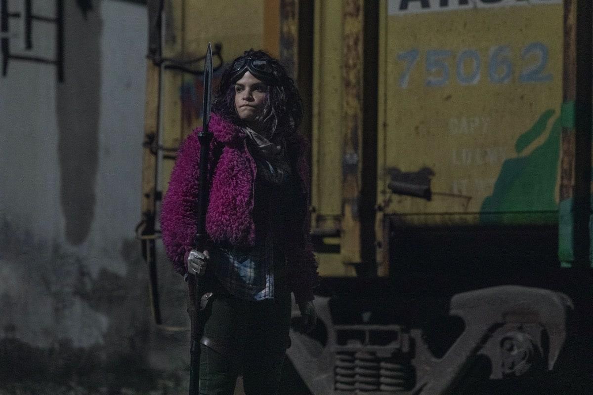 Paola Lazaro as Princess- The Walking Dead _ Season 10, Episode 16 - Photo Credit: Jackson Lee Davis/AMC