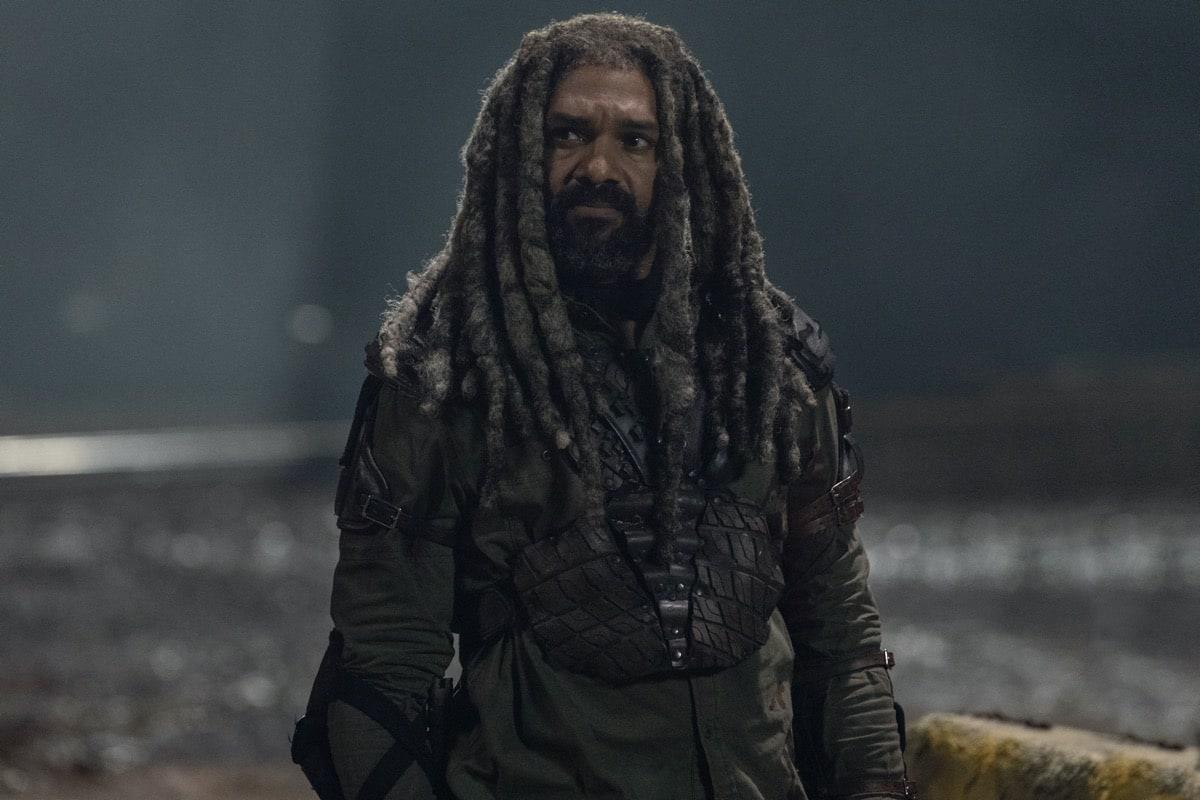 Khary Payton as Ezekiel - The Walking Dead _ Season 10, Episode 16 - Photo Credit: Jackson Lee Davis/AMC