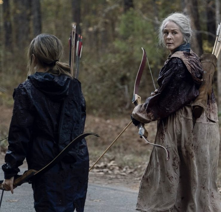 Melissa McBride as Carol Peletier - The Walking Dead _ Season 10, Episode 16 - Photo Credit: Mark Hill/AMC