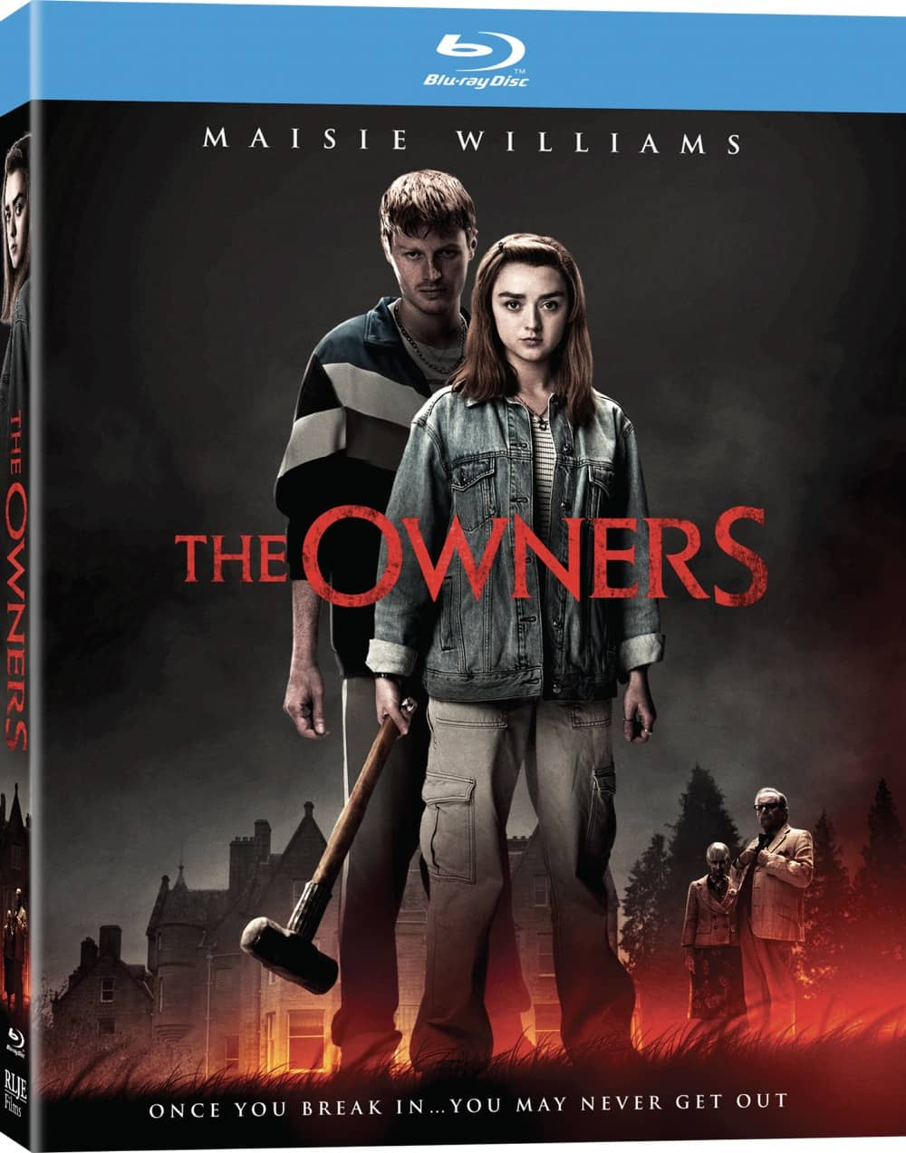The Owners Blu-ray Cover